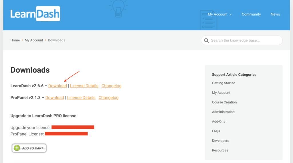 Learndash an e-learning website solution