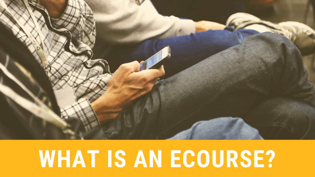 what is an ecourse